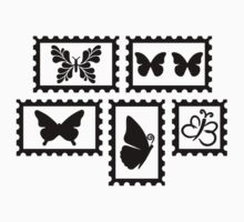 Butterfly stamps by Designzz