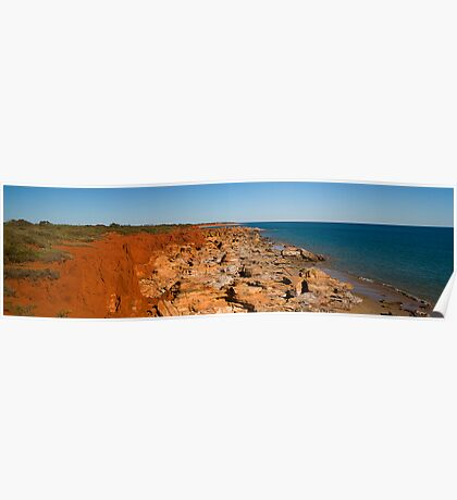Gantheaume Point, Broome, WA Poster