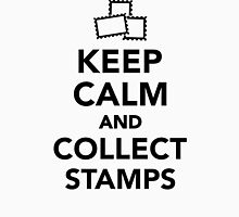 Keep calm and collect stamps Unisex T-Shirt