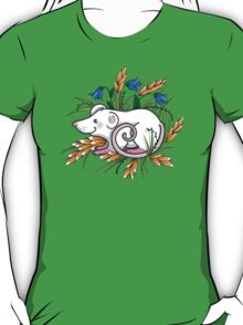 Mouse in the grass - t-shirt T-Shirt