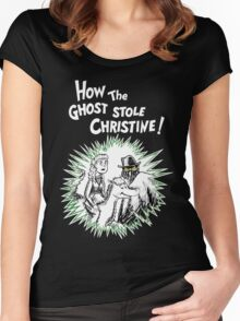 How the Ghost Stole Christine Women's Fitted Scoop T-Shirt