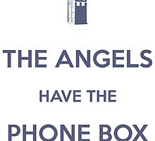 The Angels have the Phone Box - Weeping Angels - Doctor Who by merioris