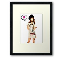Seohyun - I Got A Boy Framed Print