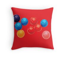 C is for Candy. Throw Pillow
