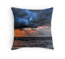 The Cruel Sea Throw Pillow