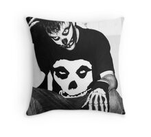 The Lonely Misfit Throw Pillow