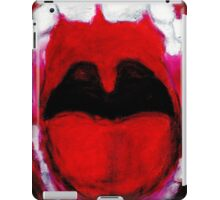 Screaming iPad Case/Skin