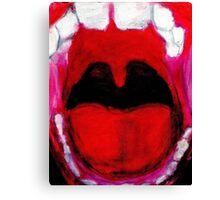 Screaming Canvas Print