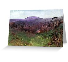 Moorland View 3 Greeting Card