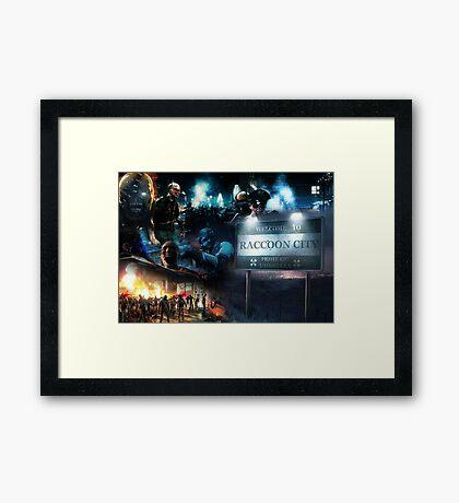 Resident Evil Framed Print