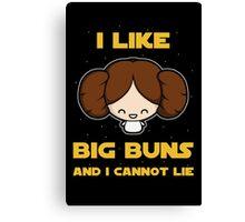 I like big buns Canvas Print