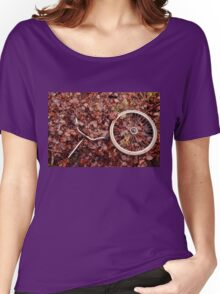 Decomposed bicycle parts Women's Relaxed Fit T-Shirt
