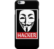 Anonymous Hacker iPhone Case/Skin