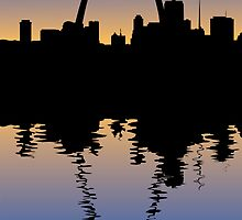 Saint Louis Silhouette by William Fehr