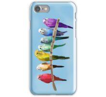 Messy Parakeets iPhone Case/Skin