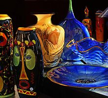 Glass and Pottery by Sandy09