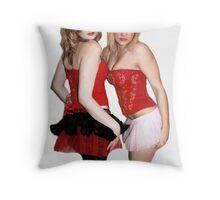 Pin-Up Girls Throw Pillow
