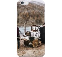 At the start of the Chilkoot Trail iPhone Case/Skin