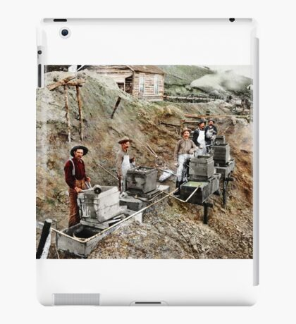 Working with water iPad Case/Skin
