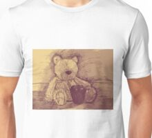 bear and apple Unisex T-Shirt