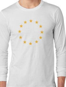 Europe flag stars Long Sleeve T-Shirt