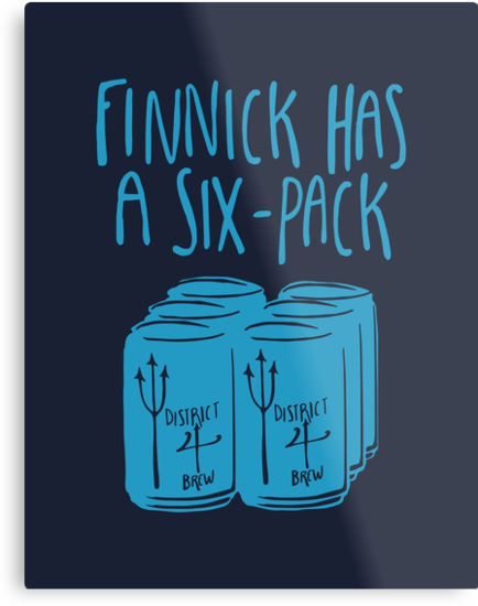 Finnick Has a Six-Pack - Dark Shirts by 4everYA