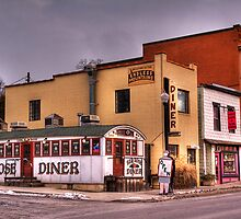 Red Rose Diner by BigD
