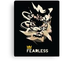 Fearless tiger Canvas Print