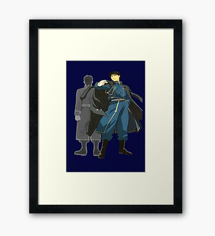 Maes and Roy Framed Print