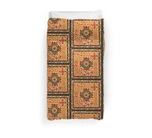 Ethnic Floral Art Duvet Cover