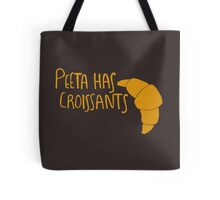 Peeta Has Croissants - Yellow Tote Bag