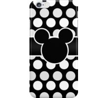 Mickey Mouse Polka Dot iPhone Case/Skin