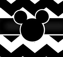 Mickey Mouse Chevron by ChandlerLasch