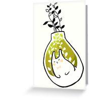 mochi rabbit. Greeting Card