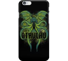 Obey the Cthulhu iPhone Case/Skin