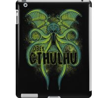 Obey the Cthulhu iPad Case/Skin