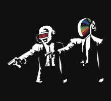 Daft Punk Pulp Fiction by Nedify