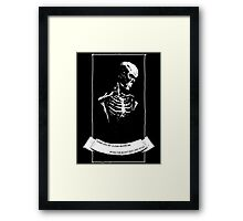 Perhaps You'll Plant A Flower Framed Print