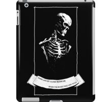 Perhaps You'll Plant A Flower iPad Case/Skin