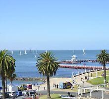 Eastern Beach Geelong Australia. by nJohnjewell