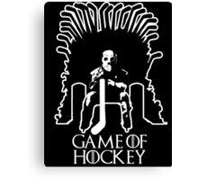 Game of Hockey Canvas Print
