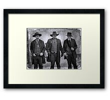 The Gunfight at the OK Corral in Tombstone Arizona Framed Print