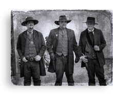 The Gunfight at the OK Corral in Tombstone Arizona Canvas Print