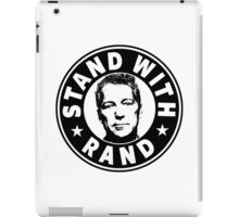 Stand With Rand iPad Case/Skin