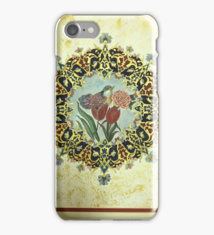 """The Tulip & The Bird"" Miniatures iPhone Case/Skin"
