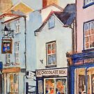 The Chocolate Box, Kington, Herefordshire by JayteesArt