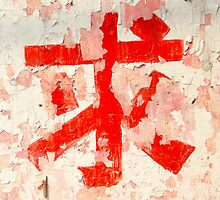 Chinese Character with Extra Character by LiTeraryT
