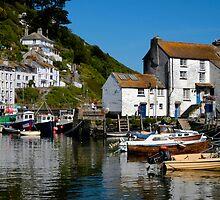 Polperro Harbour, Cornwall by rodsfotos
