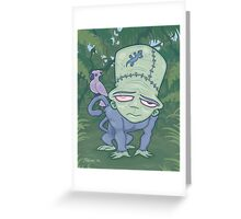 Frunkee Greeting Card