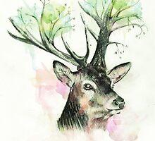Oh Deer by veryemcherry